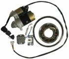 186F 9hp diesel engine electric start accessory kit